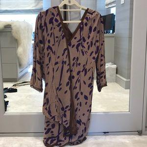 Missoni silk and jersey dress